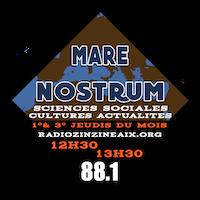 Logo de l'émission Mare Nostrum sur Radio Zinzine